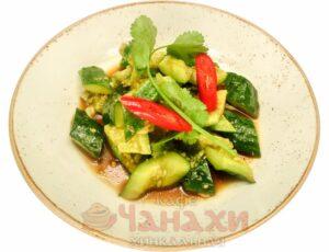Салат ароматные огурцы