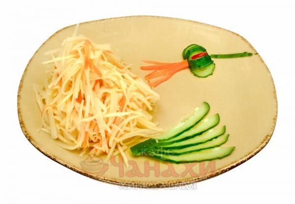 Салат из молодого бамбука