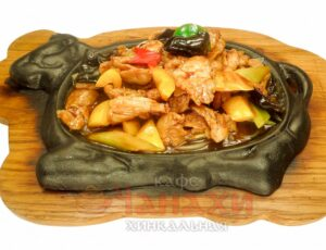 Блюда на раскаленной сковороде