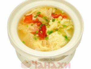 Суп Томатный с яйцом