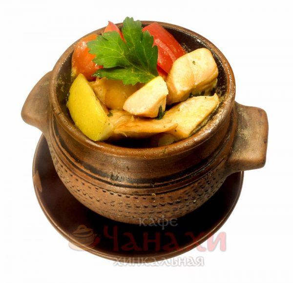 Чанахи из семги